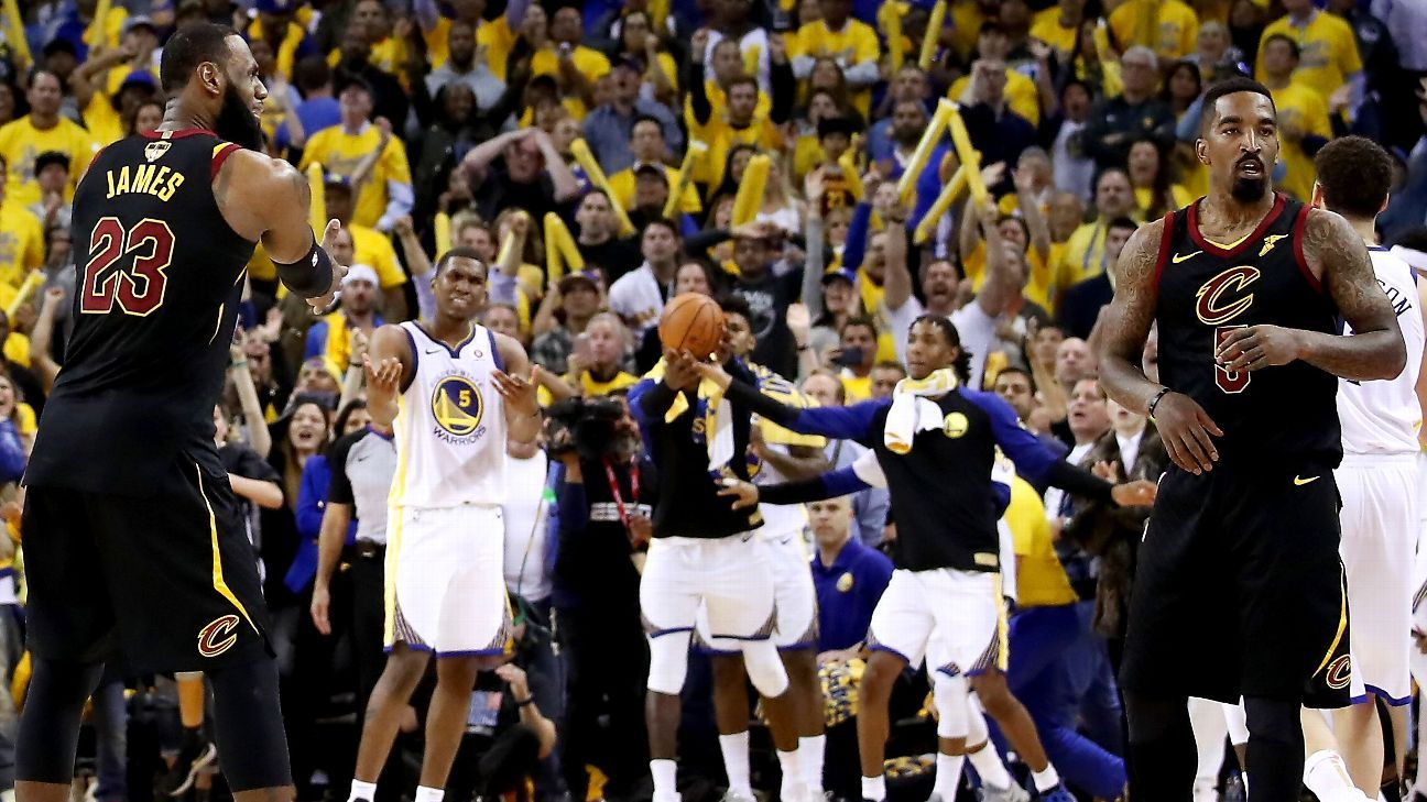 83ae6a45a634 An oral history of the final minute of regulation of 2018 NBA Finals Game 1  between the Cleveland Cavaliers and Golden State Warriors