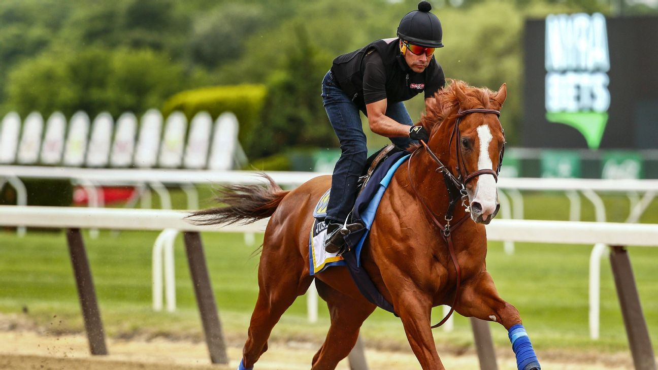 Justify Tunes Up For Triple Crown Bid With Impressive