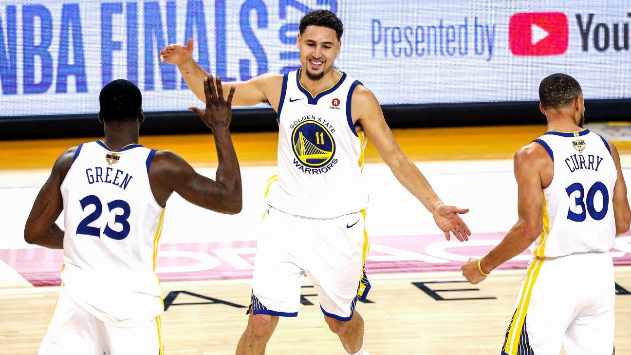 61cd4af5cbd3 Klay Thompson is the glue that holds the Golden State Warriors together -  NBA Finals