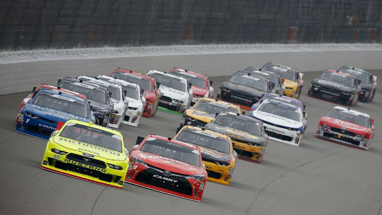 2019 Nascar Xfinity Truck Series Schedules Released