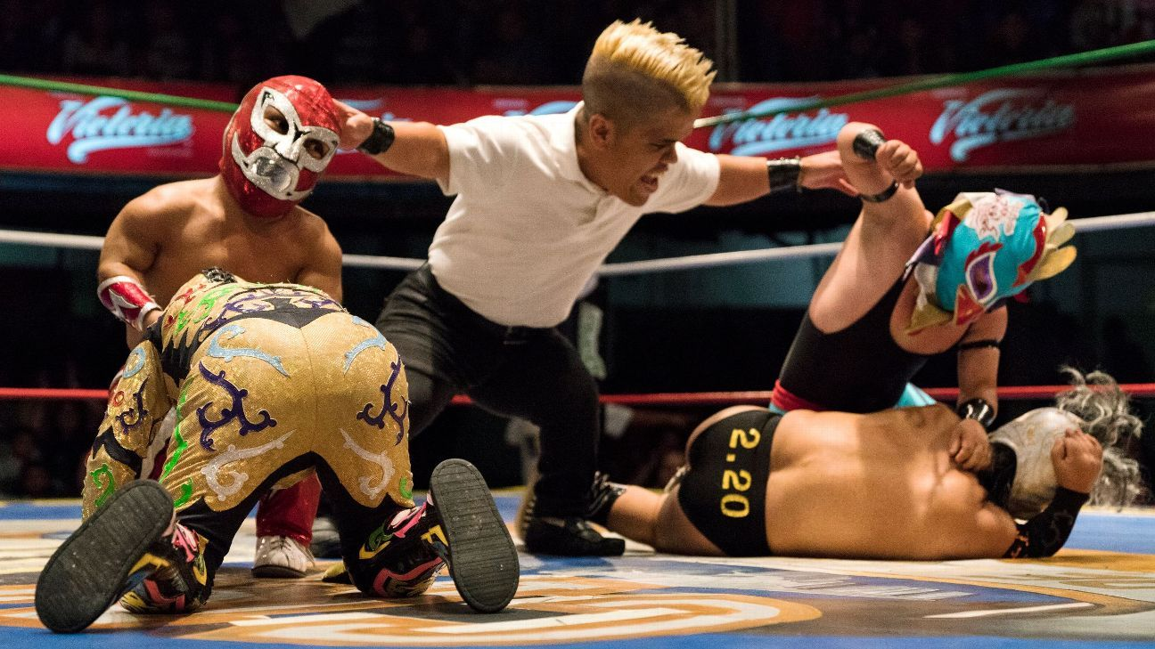 Little person wrestlers in Mexico s lucha libre train to become headliners d76432841