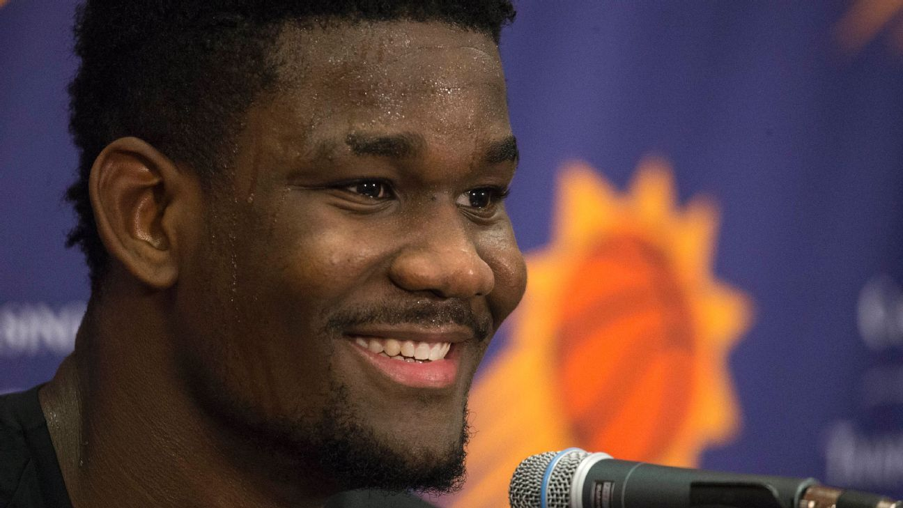 d55b8f2f494f Projected No. 1 pick in NBA draft Deandre Ayton signs with Puma