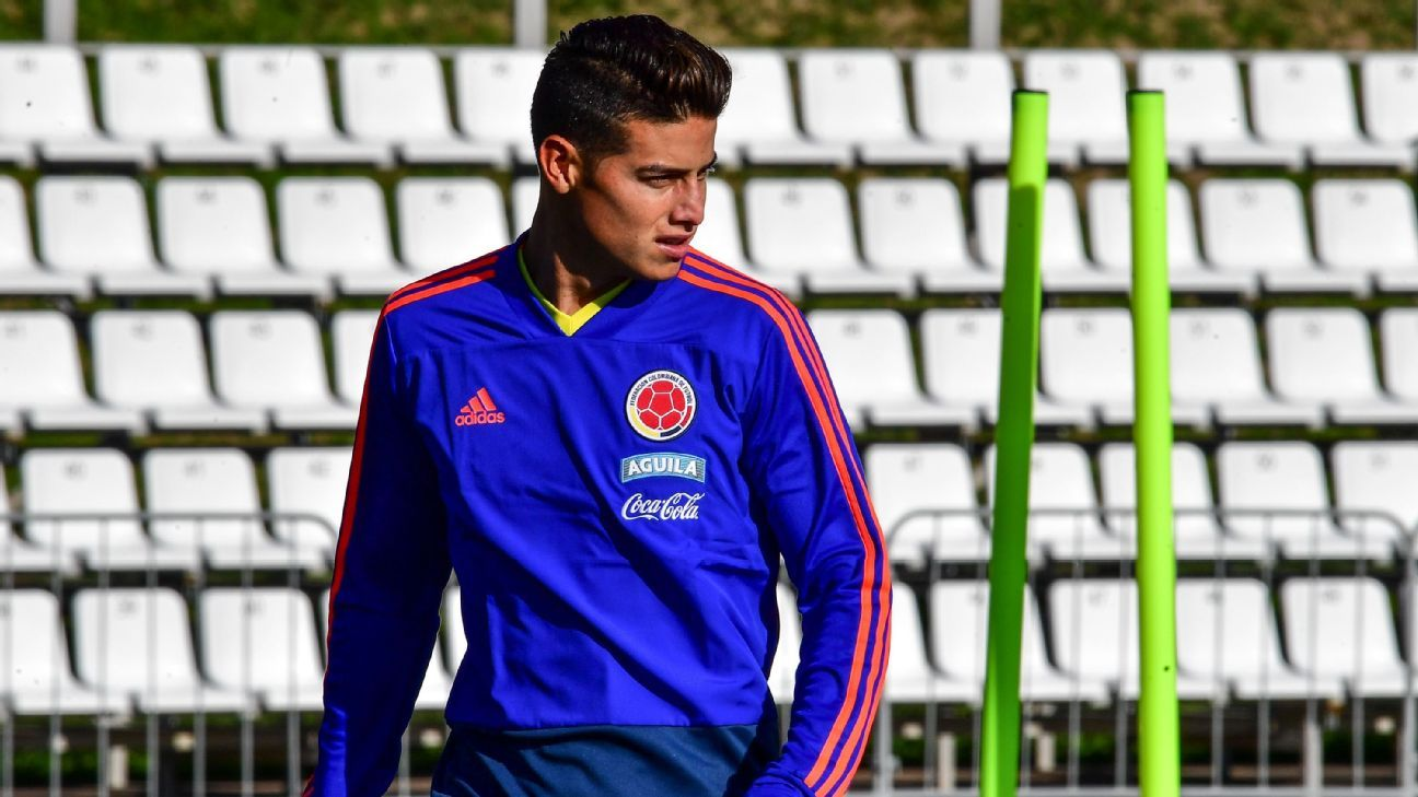 Colombia s James Rodriguez not starting against Japan after calf injury de3e7a690