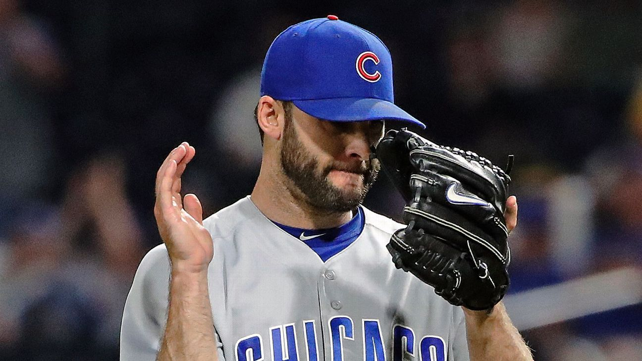 Cubs' Morrow done for season with elbow issues