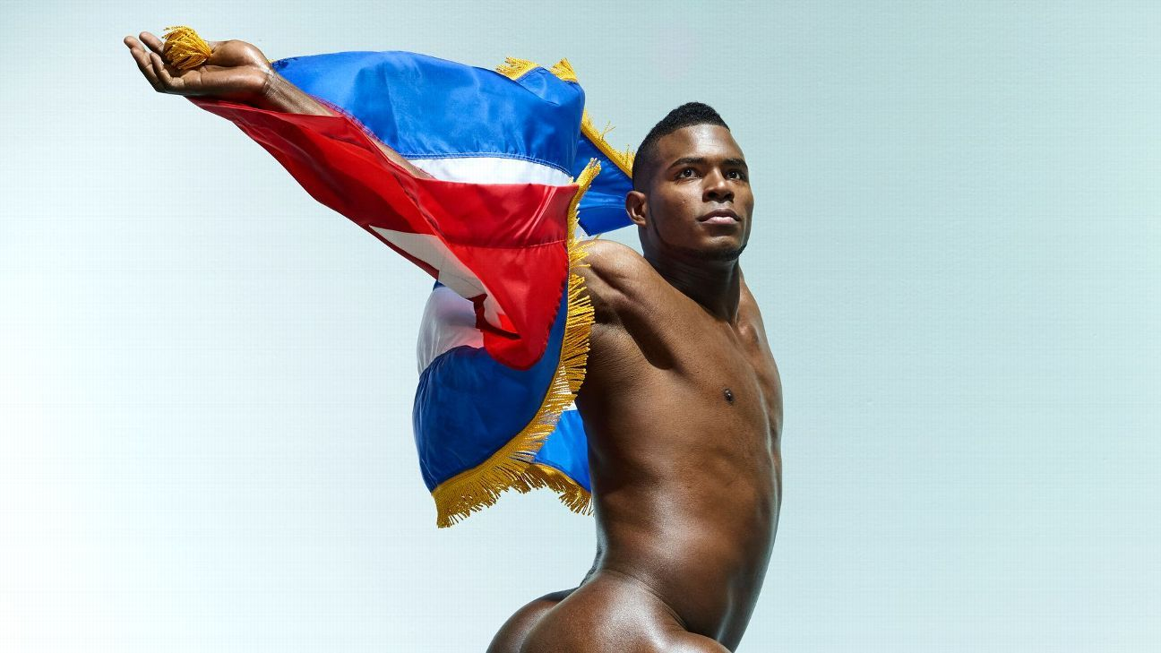 Los Angeles Dodgers star Yasiel Puig on body love and outfield collisions  -- Body Issue 2018 726d3bc0dc2