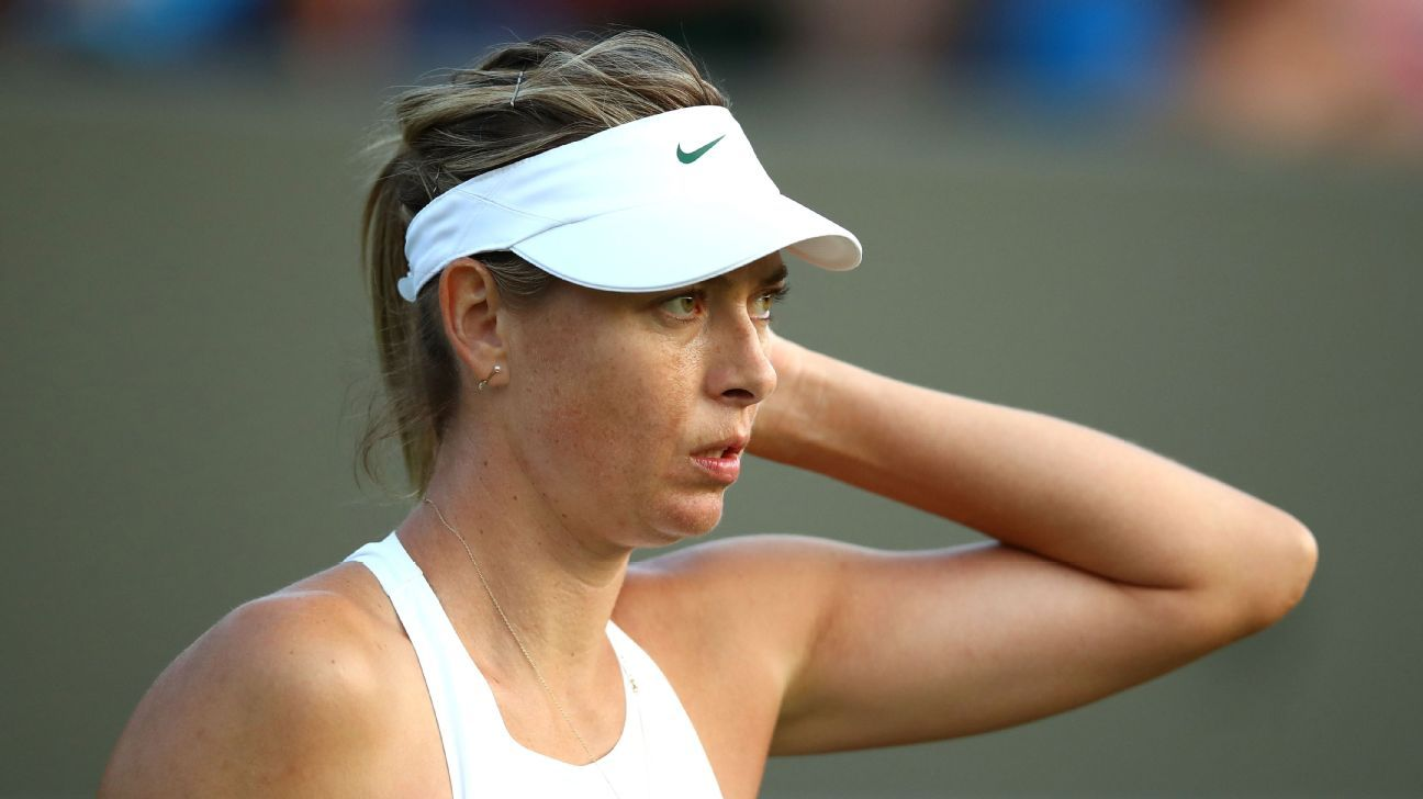 2018 Wimbledon - A one and done, Maria Sharapova trusts ...