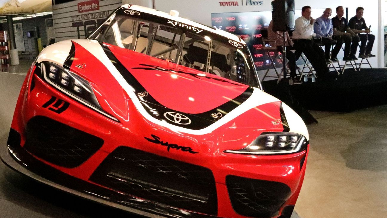 toyota supra will debut in nascar 39 s xfinity series in 2019. Black Bedroom Furniture Sets. Home Design Ideas