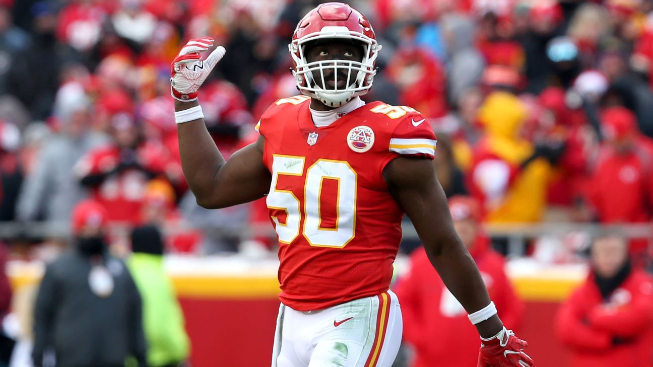 The Colts have reached agreement on a deal with former Chiefs linebacker Justin Houston.
