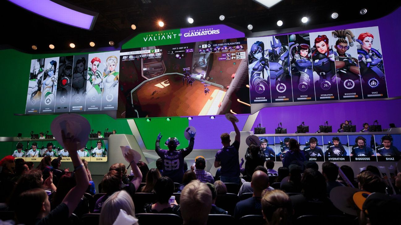 Culture shock - The multinational mosaic of Overwatch League
