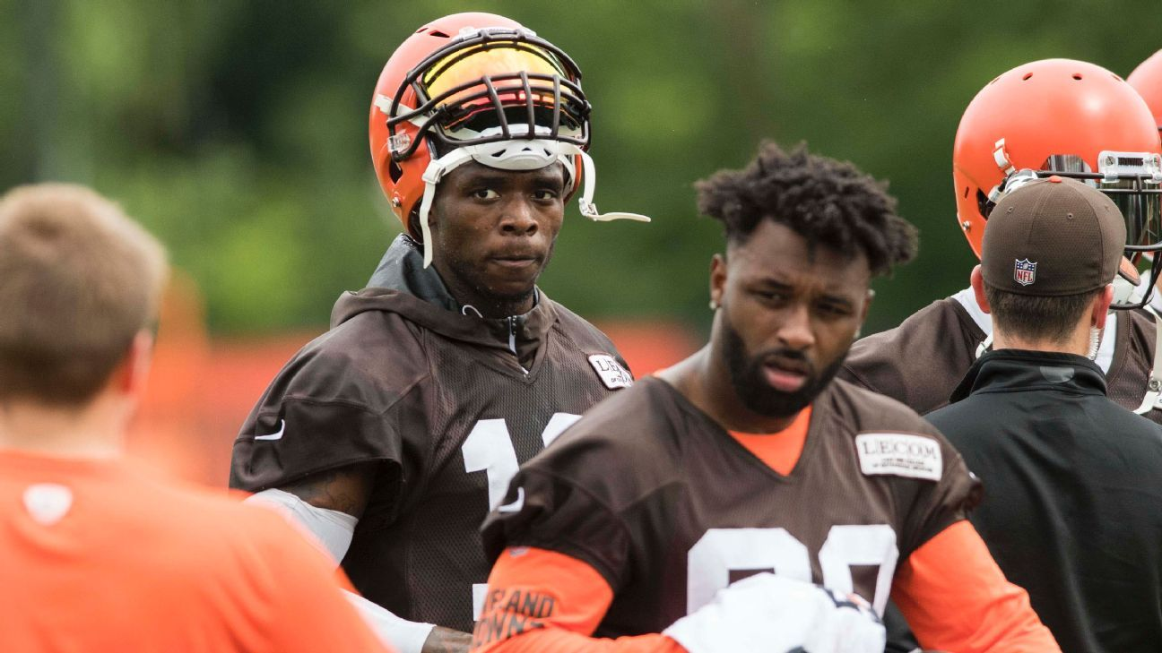 Josh Gordon s absence leaves Browns with big need at receiver - AFC North-  ESPN dd690d8d1