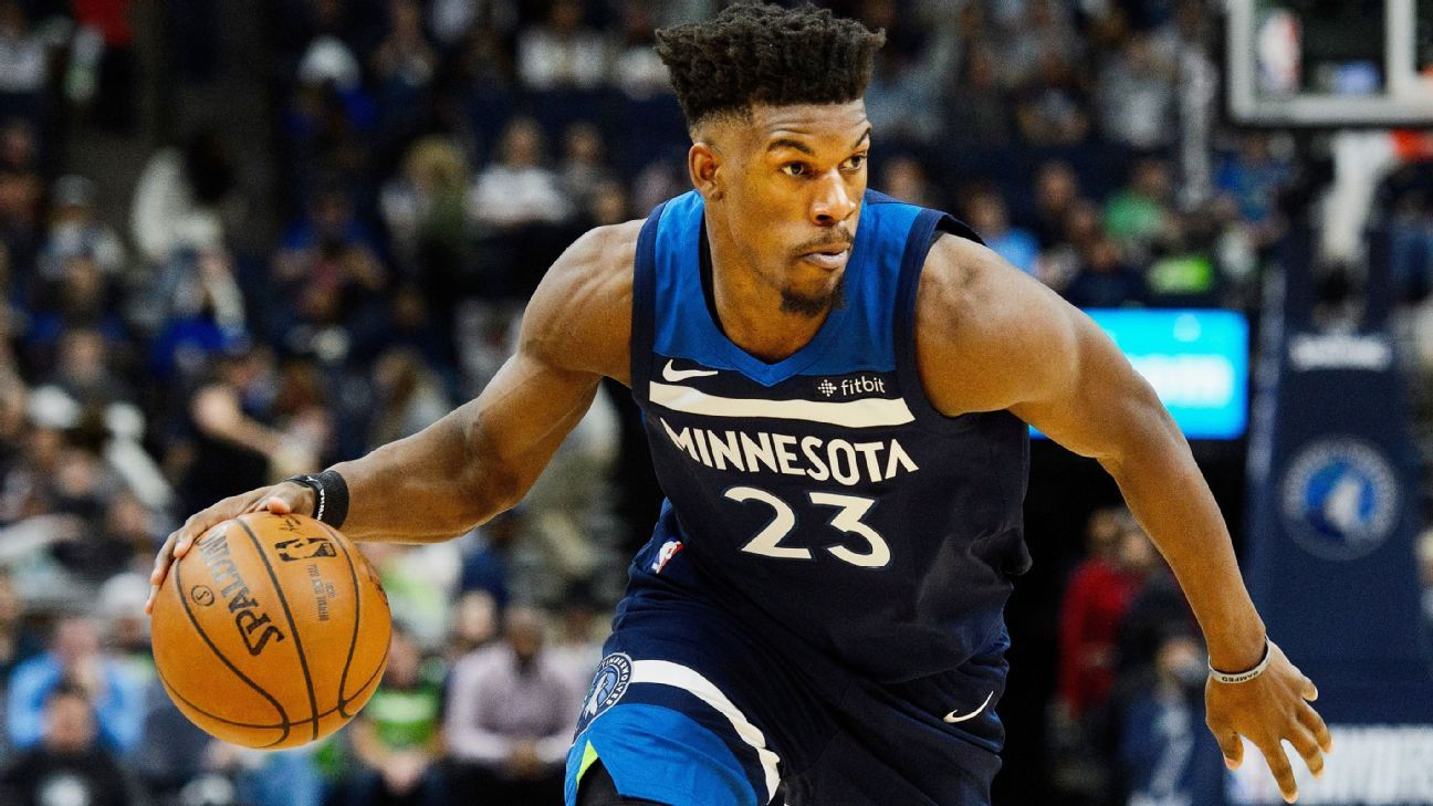 9acb9bf9164 Jimmy Butler of Minnesota Timberwolves seeking trade to Brooklyn Nets