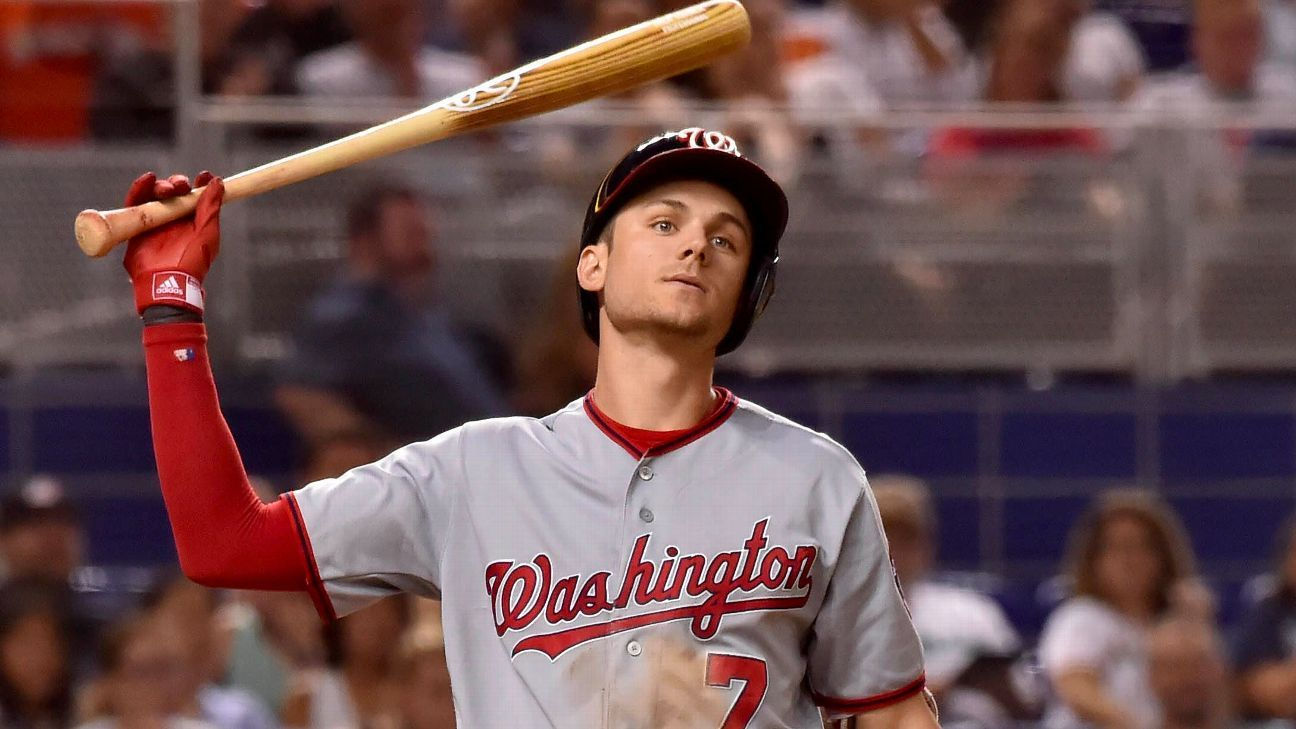 the best attitude 692ab ca86c Washington Nationals' Trea Turner apologizes after old ...