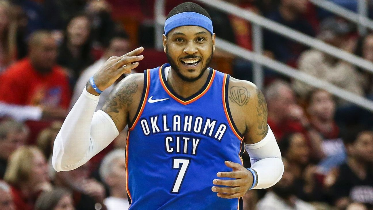 b7424aa54695 Carmelo Anthony finalizes buyout with Atlanta Hawks