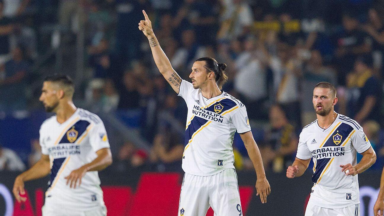 new styles 50787 cbf5e LA Galaxy's Zlatan Ibrahimovic has top selling jersey in MLS ...