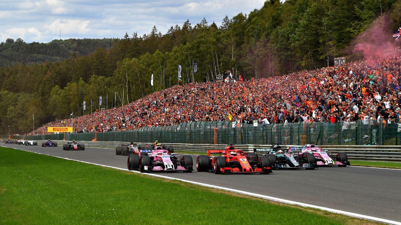 Key dates on the 2019 Formula One calendar