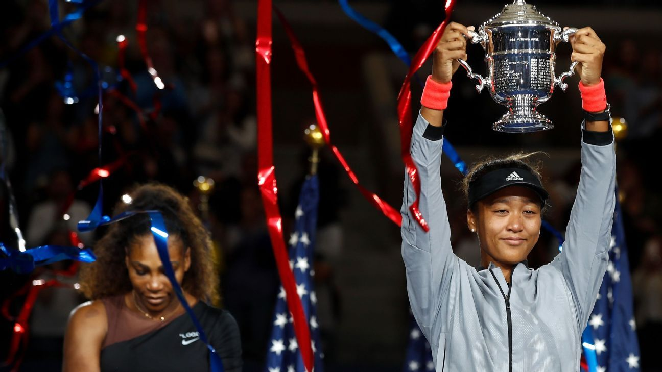 d62c7e86cf Naomi Osaka wins controversial 2018 US Open over Serena Williams