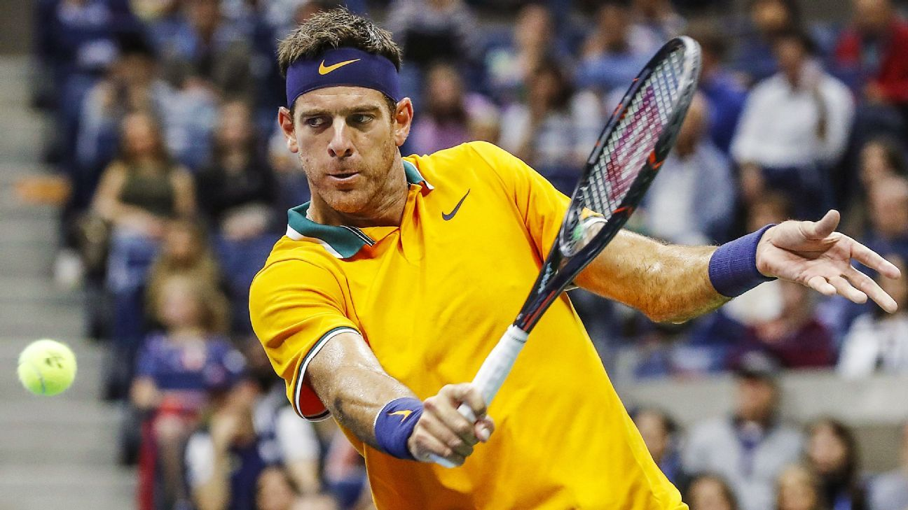 Del Potro out of Indian Wells with knee injury