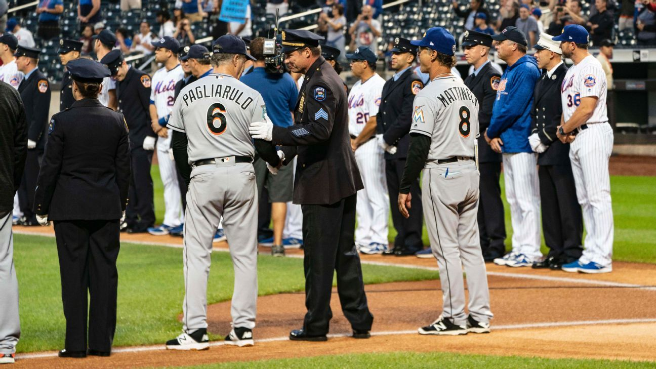 1ac0d7d0a MLB commemorates 9/11 anniversary with ballpark ceremonies