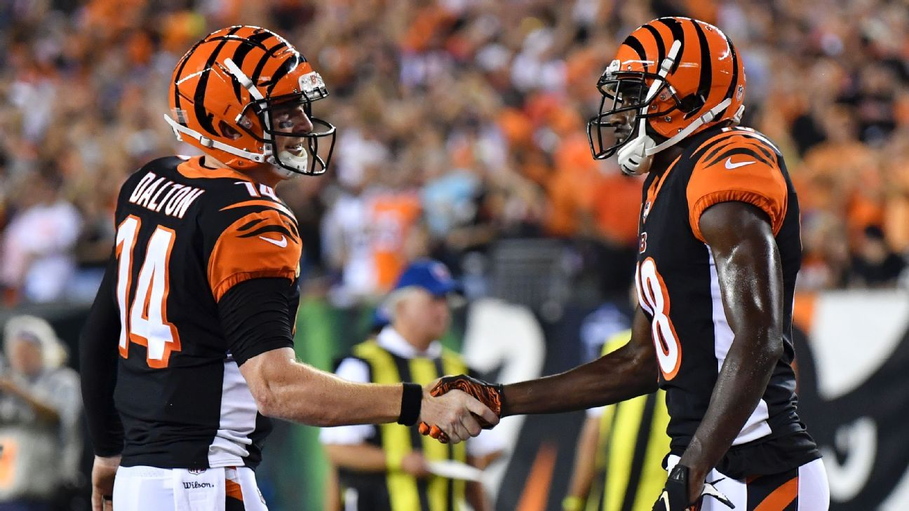 Andy Dalton-to-A.J. Green is one of NFL s most underrated connections - NFL  Nation- ESPN d4573d2f4