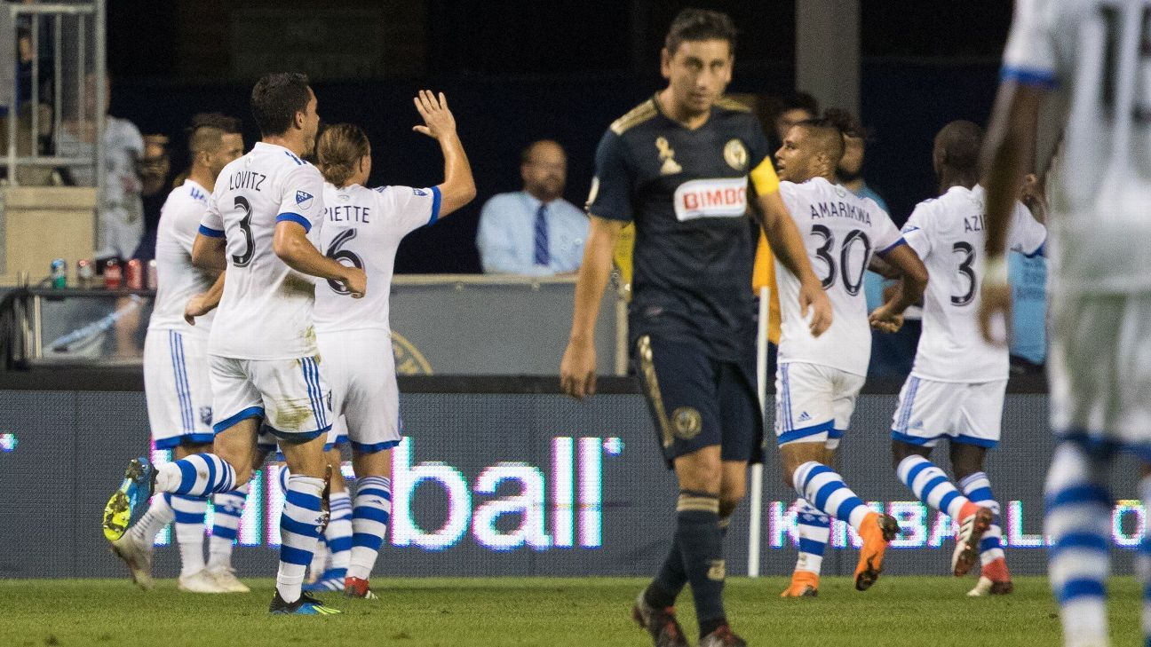 best service 57604 9bd13 Philadelphia Union vs. Montreal Impact - Football Match ...