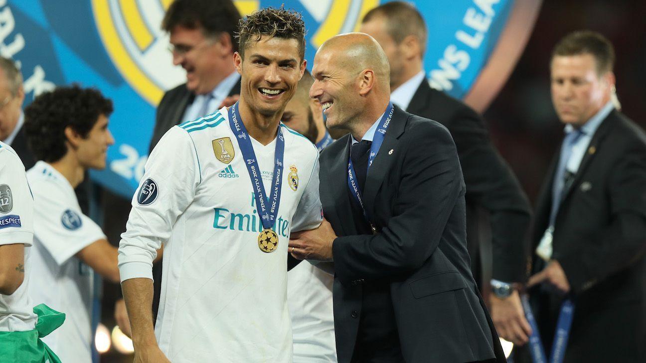 Zinedine Zidane, acerca de un supuesto retorno de Cristiano Ronaldo: 'Sabemos lo que es para el Real Madrid'