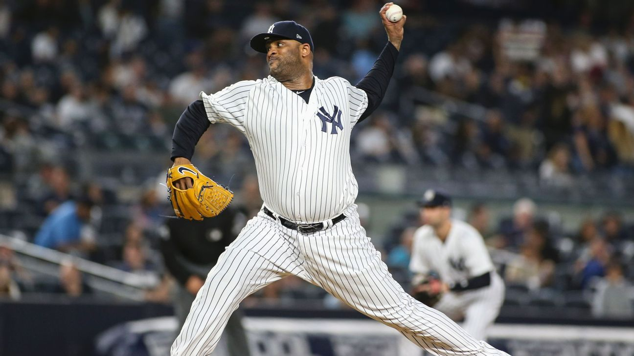 Balky knee forces Yanks to place Sabathia on IL