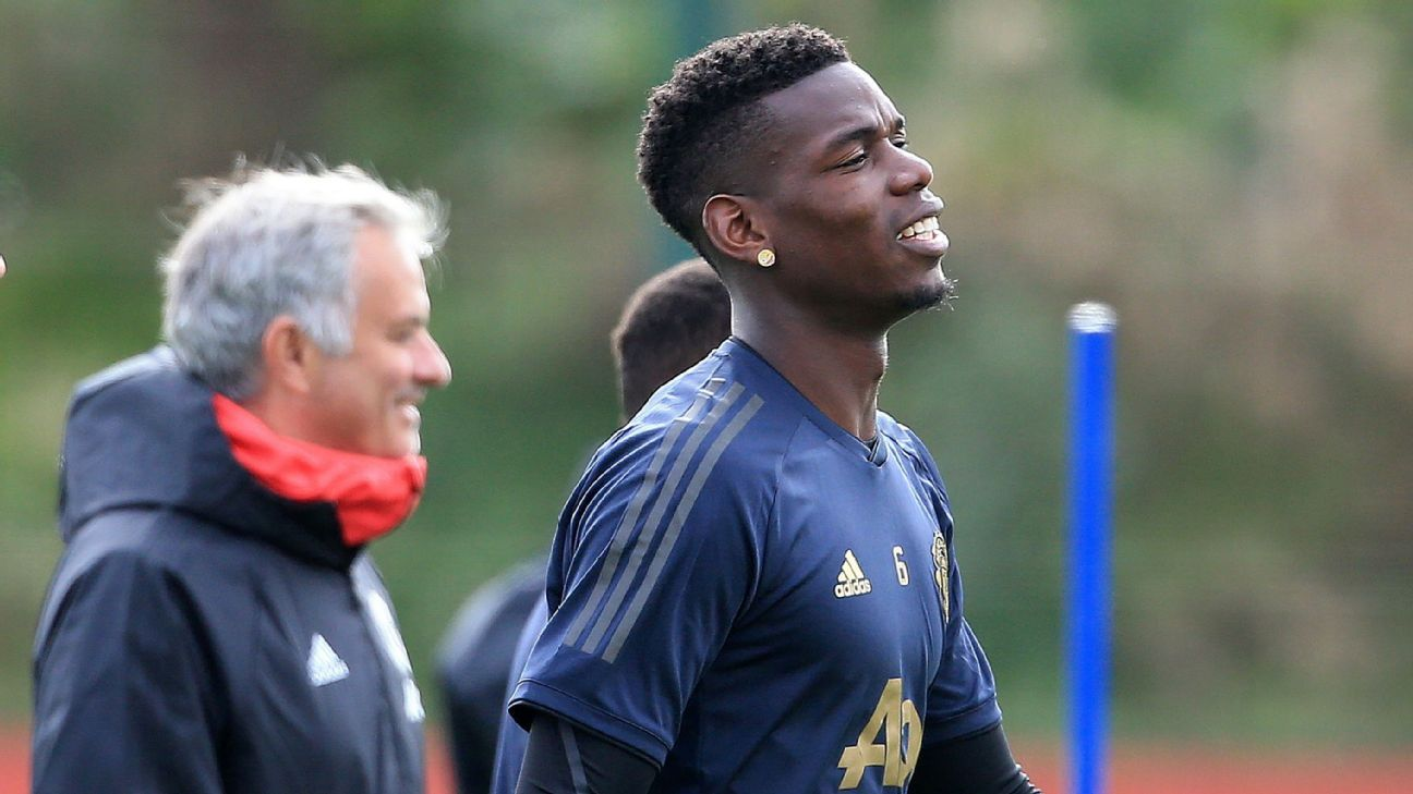 Pogba: Mourinho relationship one of 'happiness'