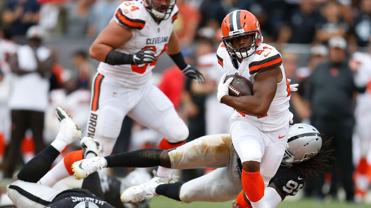 02bf1e7e3 Cleveland Browns show belief in Nick Chubb with trade of Carlos Hyde - Cleveland  Browns Blog
