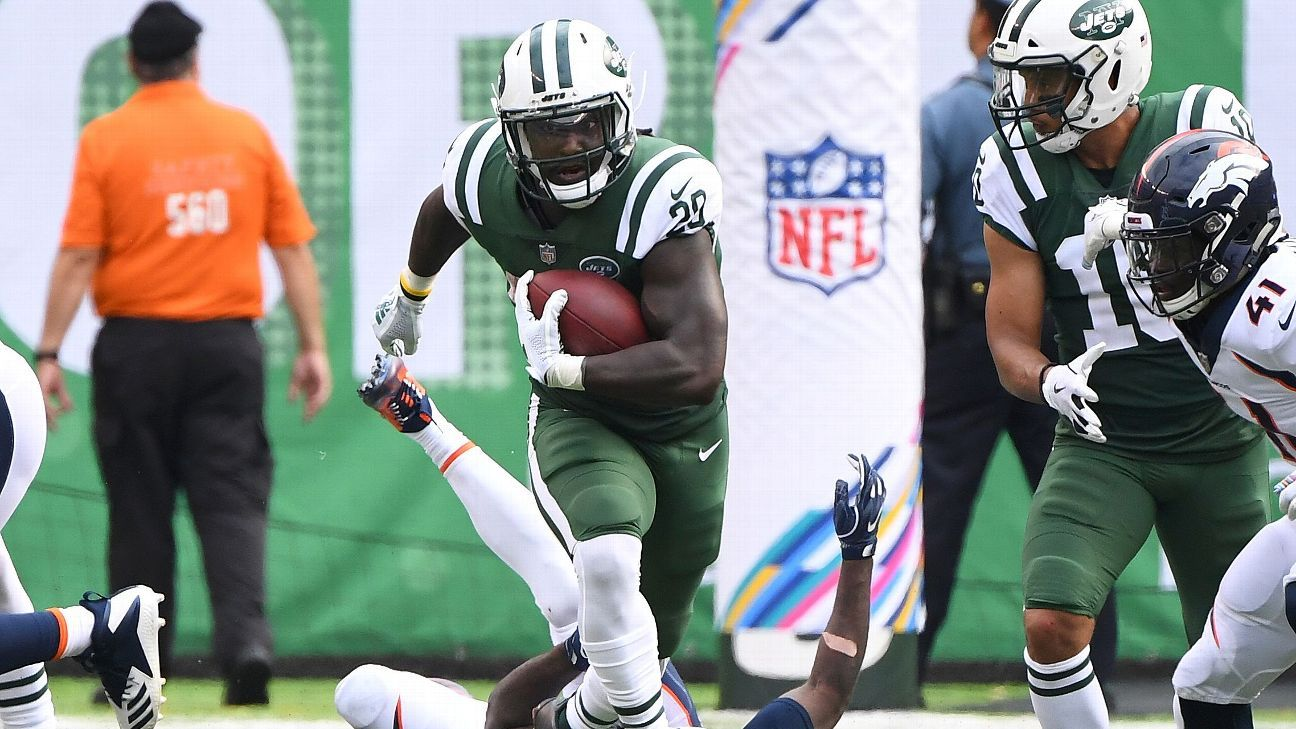 uk availability 3c5bf b76e7 Isaiah Crowell sets New York Jets franchise record with 219 ...