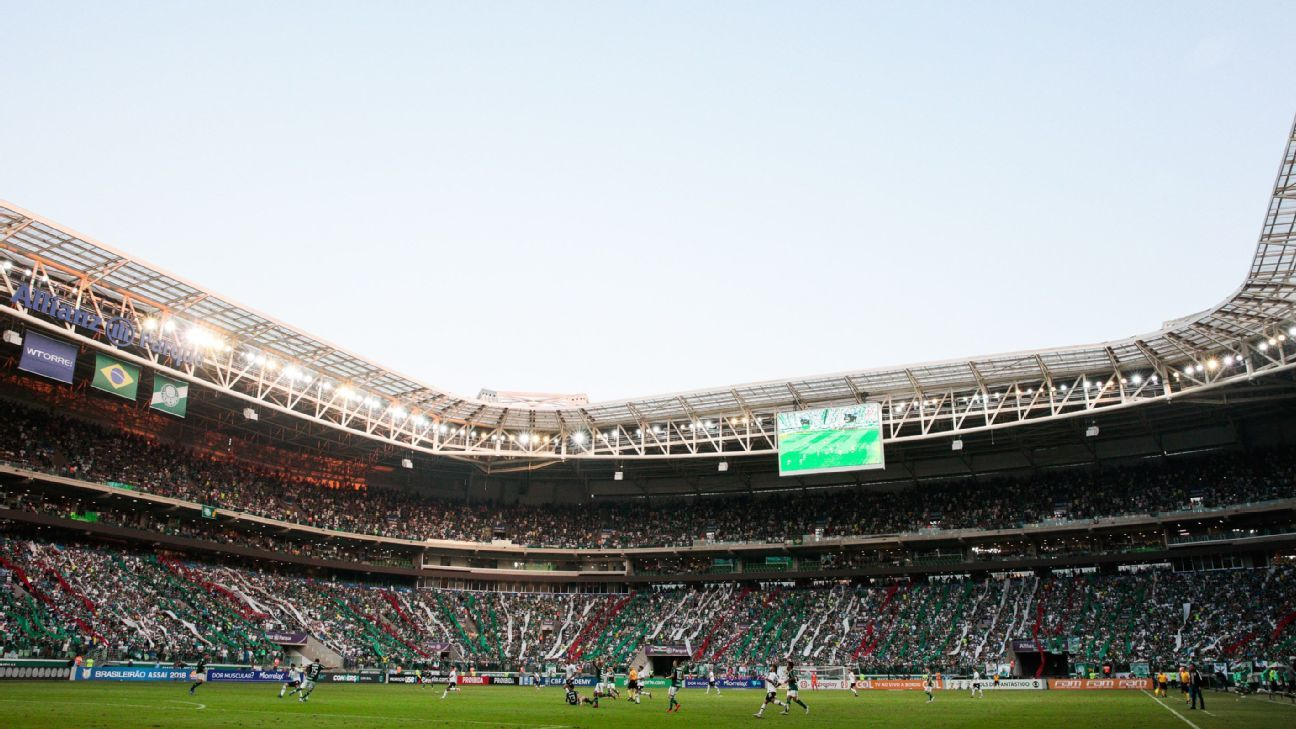 6919f5bf46 Palmeiras  Allianz Parque é melhor estádio brasileiro em enquete interativa  do jornal espanhol Marca
