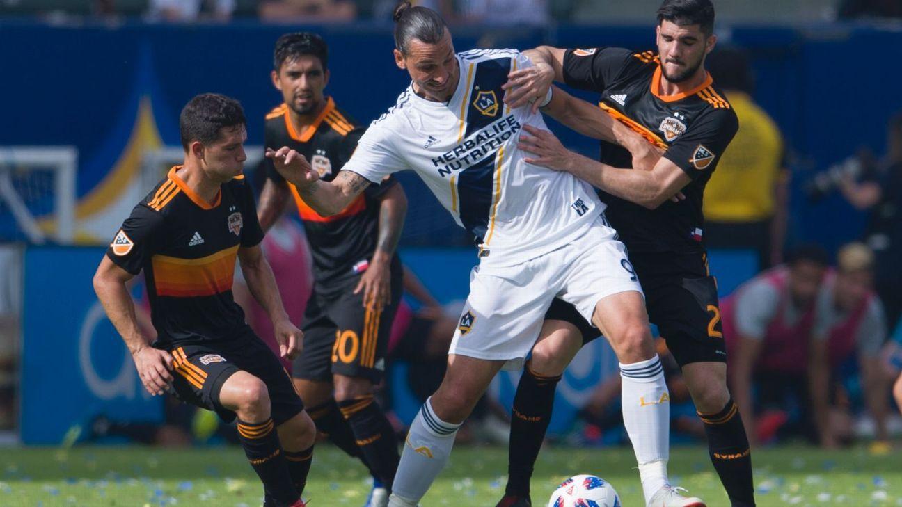 2629c3af30f LA Galaxy vs. Houston Dynamo - Football Match Report - October 28, 2018 -  ESPN
