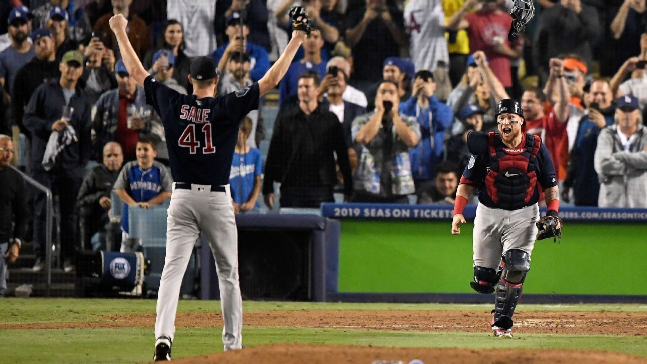 Boston Red Sox starters won the World Series -- from the bullpen