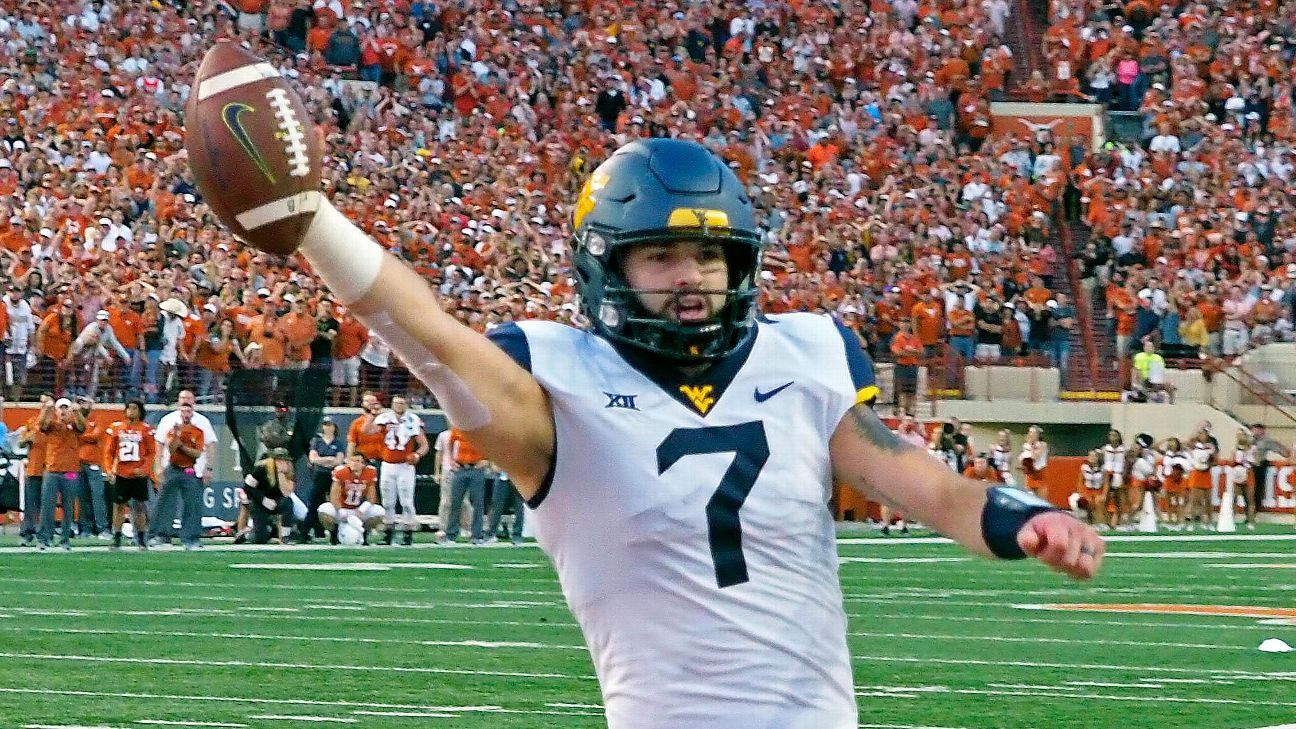 9863d9a915b5 College football power rankings West Virginia makes its move