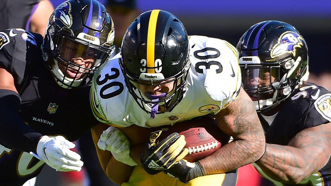 5112019ecdd Pittsburgh Steelers RB James Conner racks up big numbers again ...