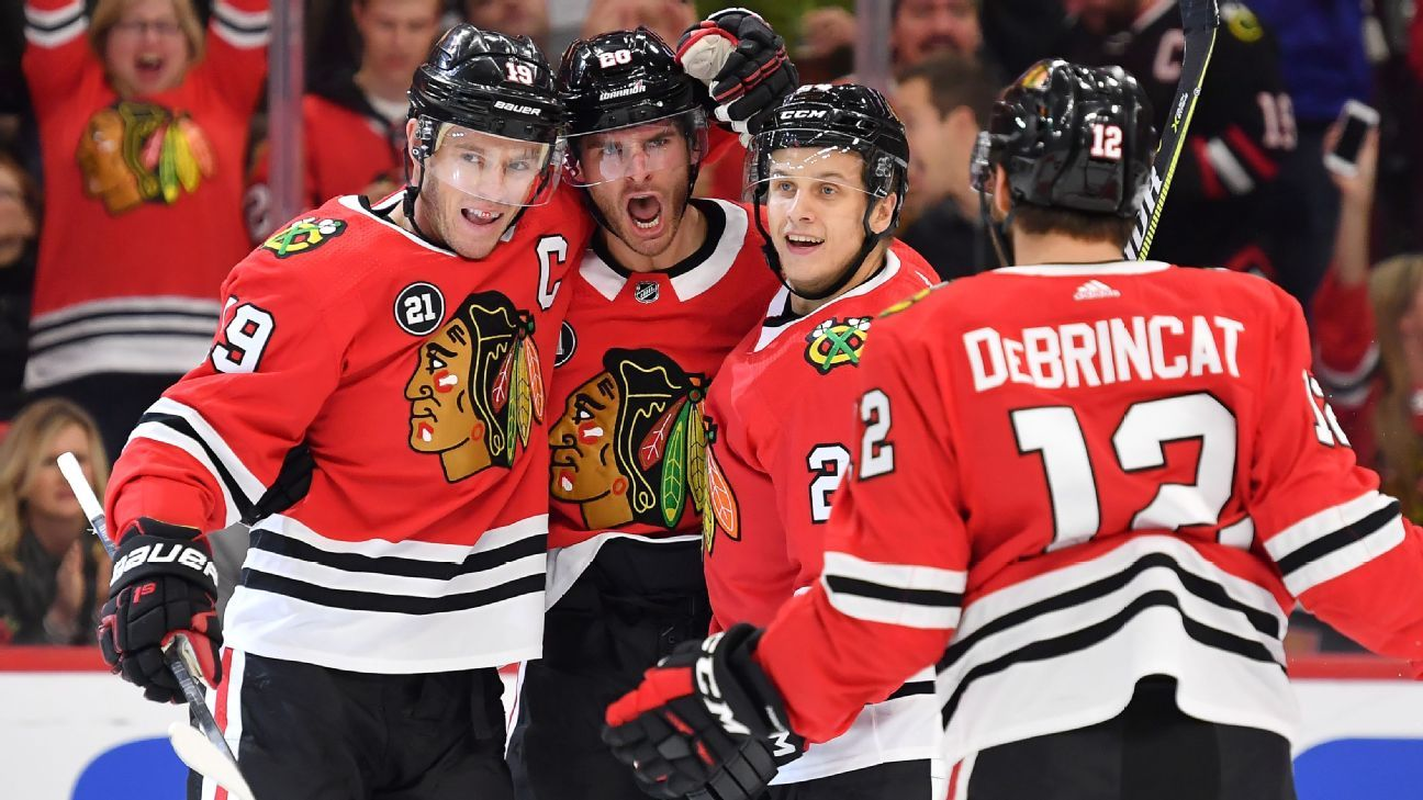 8b3a23451 NHL - Looking ahead for the Chicago Blackhawks after the firing of Joel  Quenneville