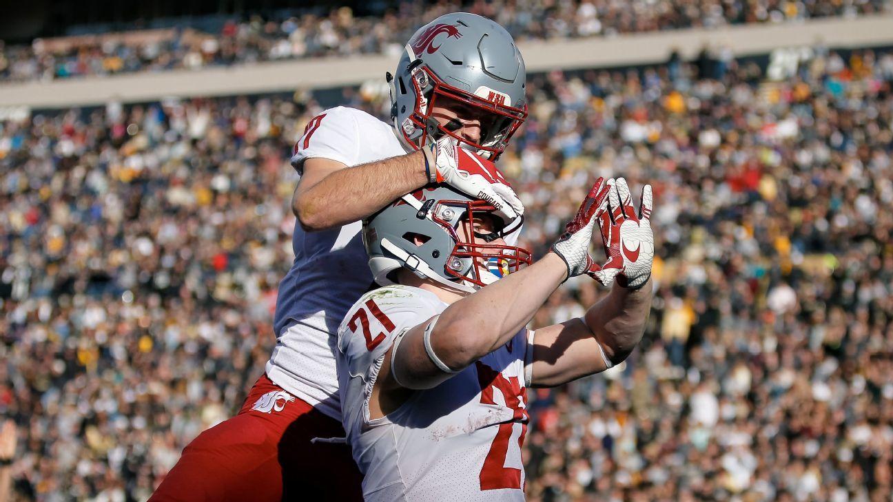 College football power rankings Washington State moves ...