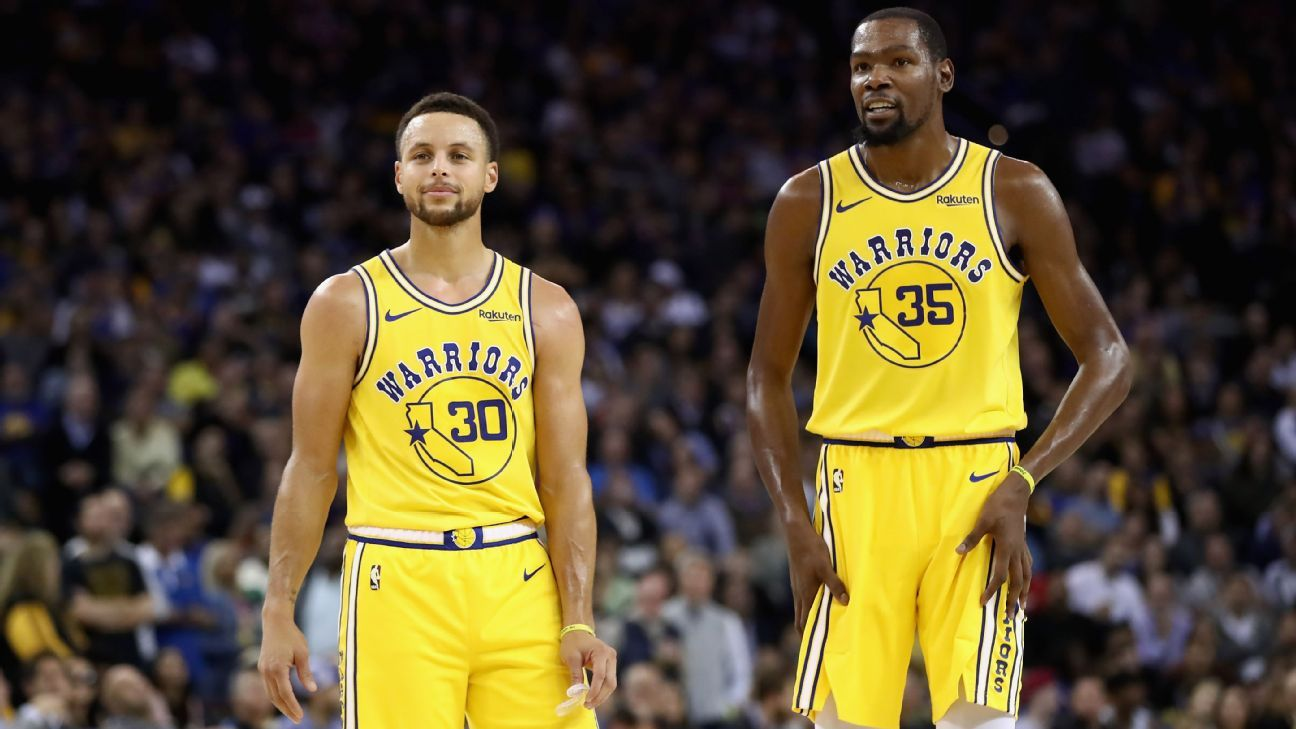 323b6382e89f Fantasy basketball - Rest-of-season fantasy basketball rankings for points  leagues - Is Stephen Curry better than Kevin Durant