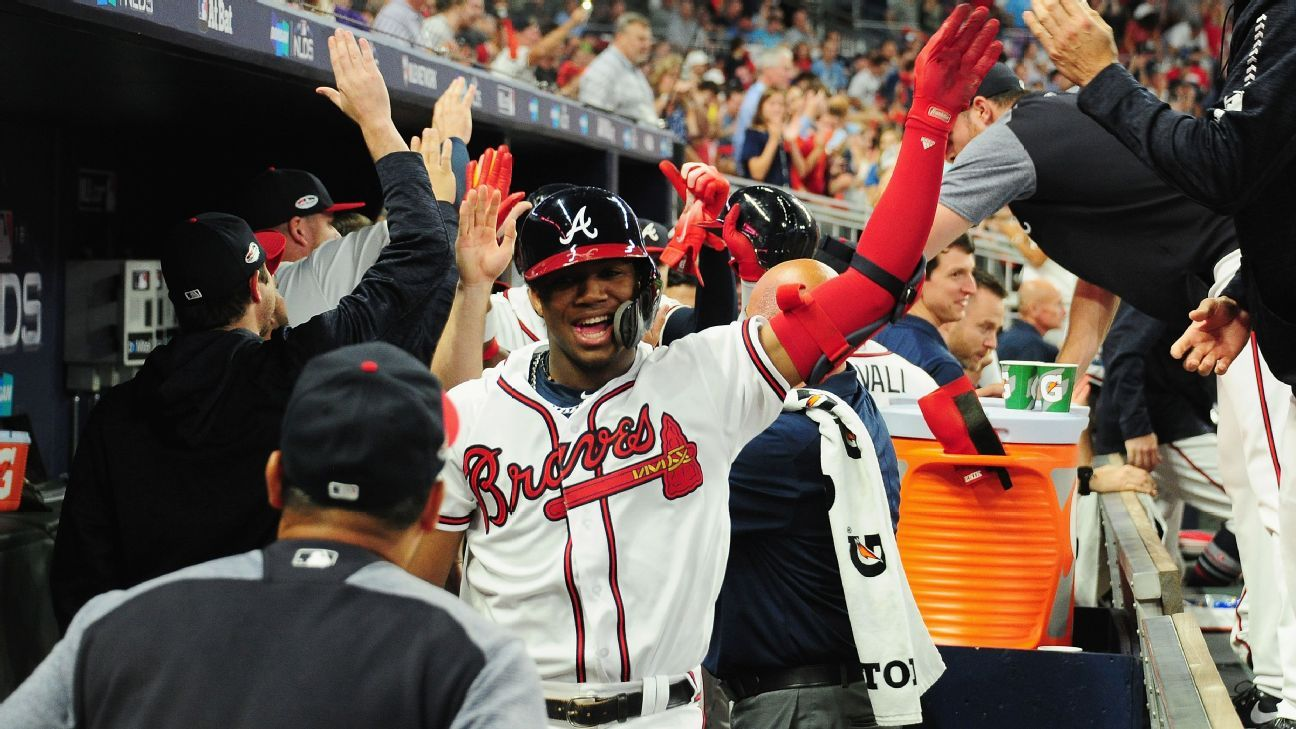 Ronald Acuna Jr Of Atlanta Braves Named Nl Rookie Of The Year