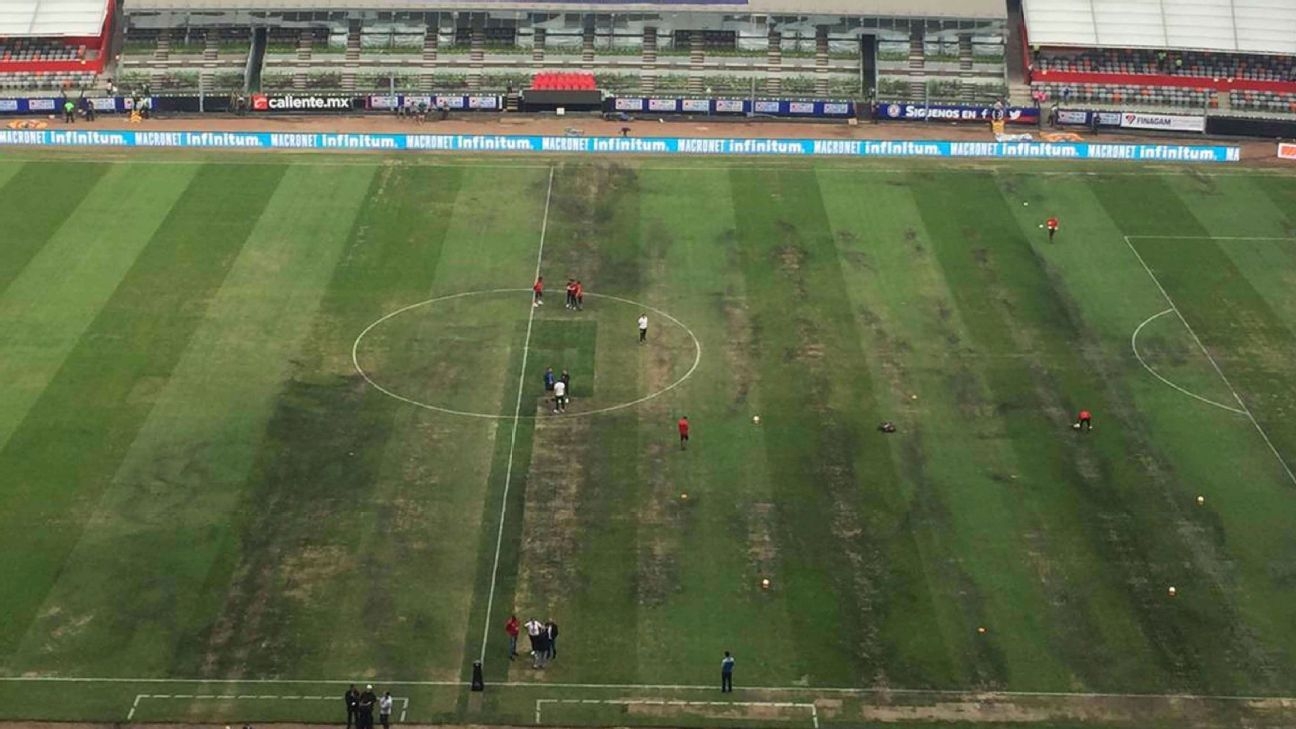 After a field combining synthetic and natural grass didn't take, causing an NFL game to be moved back to the United States, Azteca Stadium in Mexico City will revert back to natural turf.