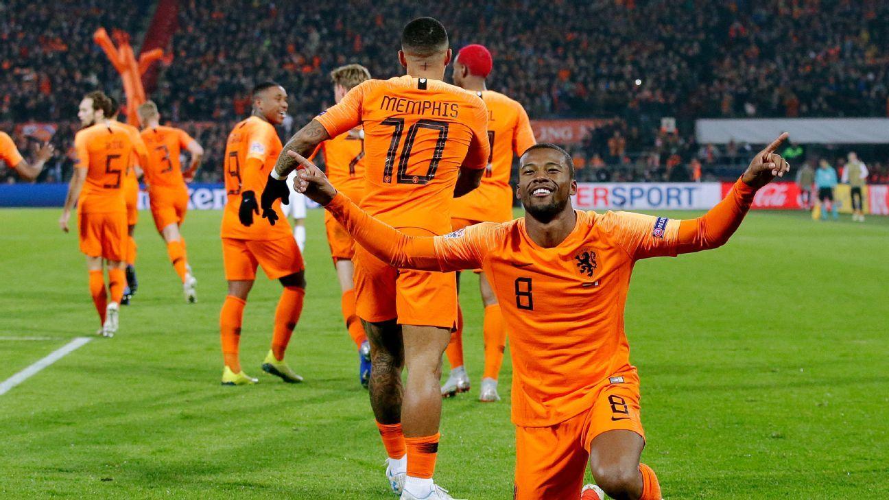 netherlands vs france  football match summary  november