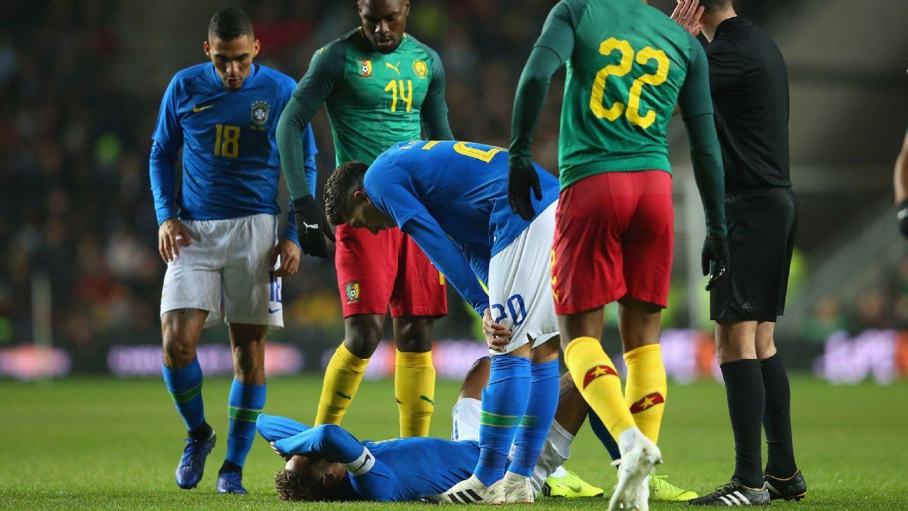 Brazil vs  Cameroon - Football Match Summary - November 20