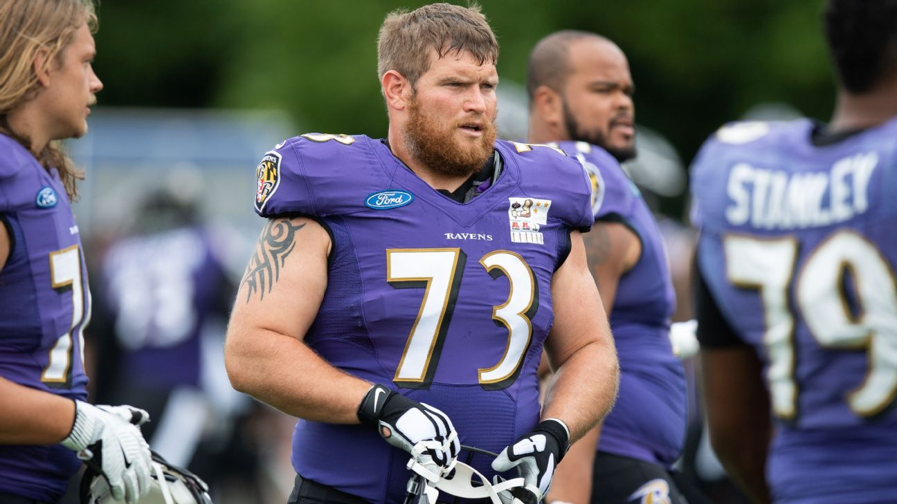The Ravens reached a one-year extension with seven-time Pro Bowl guard Marshal Yanda, a league source told ESPN's Adam Schefter.