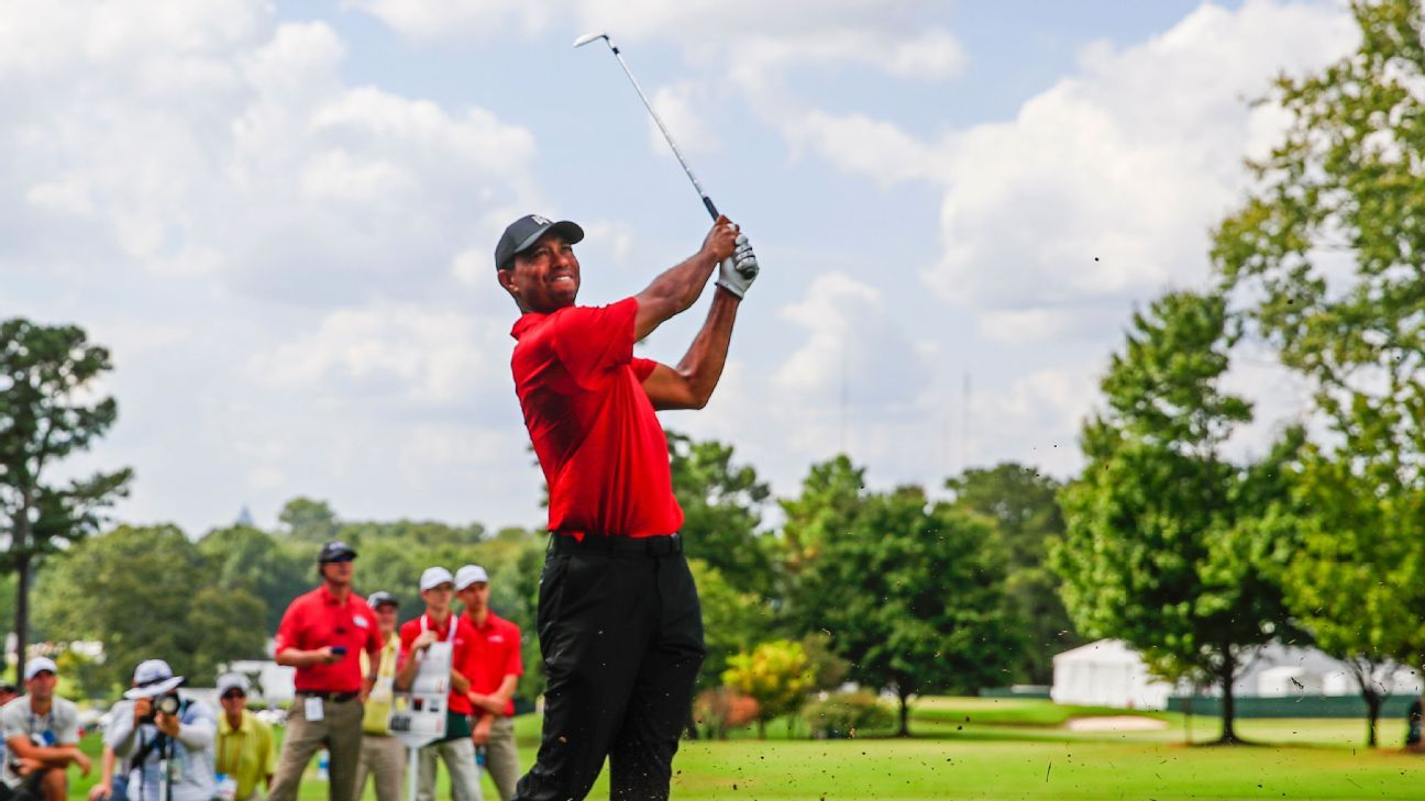 Inside Tiger Woods' 2018-19 season