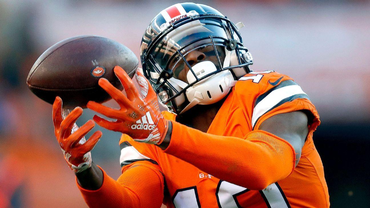 a949e27c5bd Denver Broncos think WR Emmanuel Sanders tore Achilles