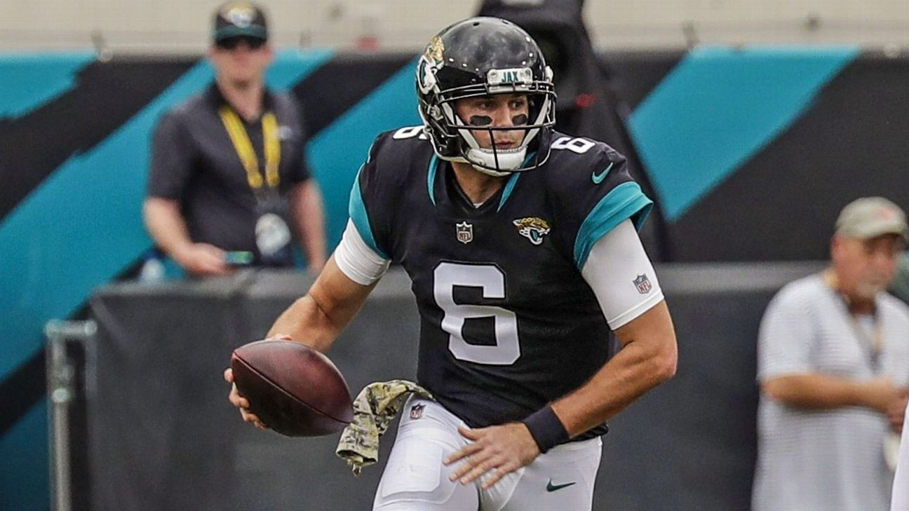 new product e77bd 9095d Jaguars QB Cody Kessler gets first NFL win, shrugs at ugly ...