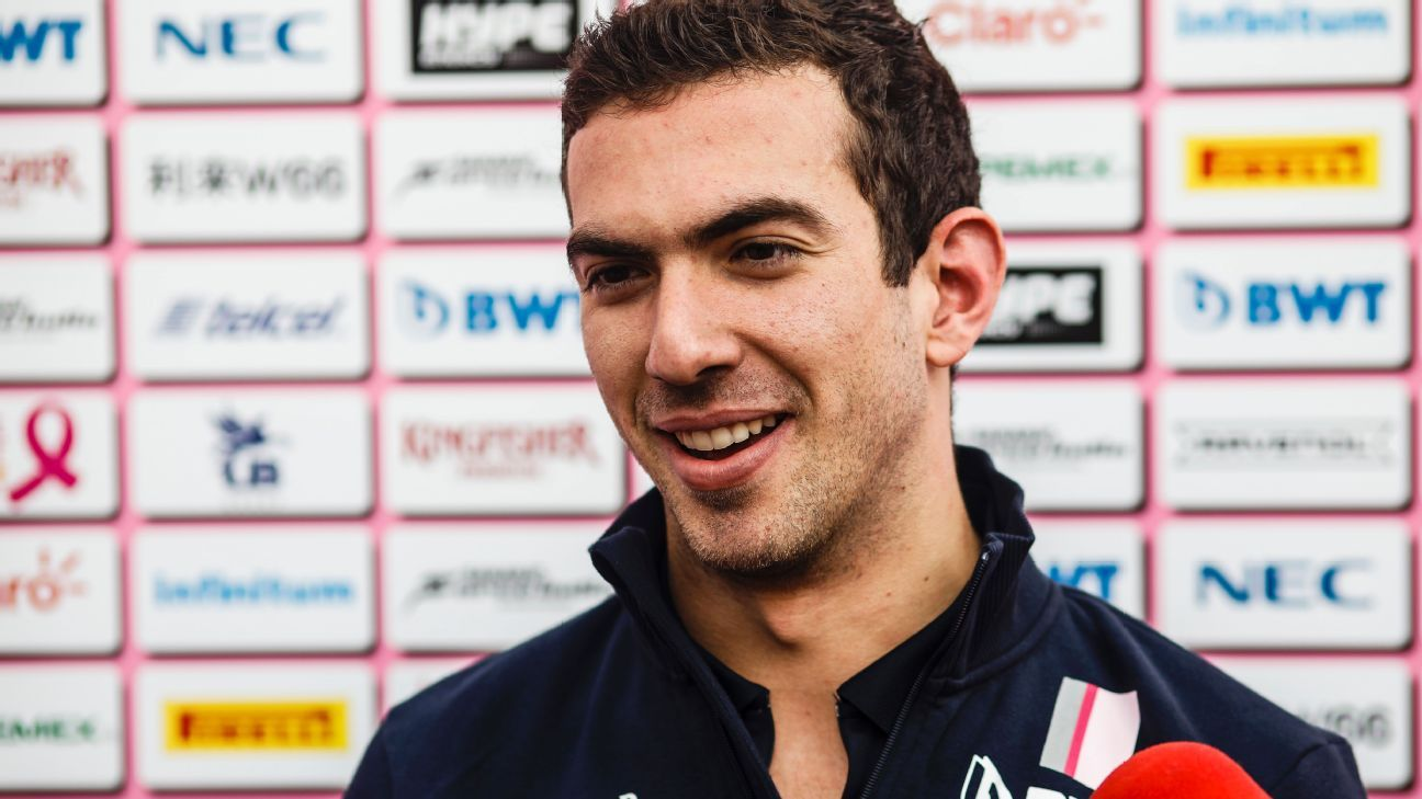 Nicholas Latifi chooses to race under No.6 in F1