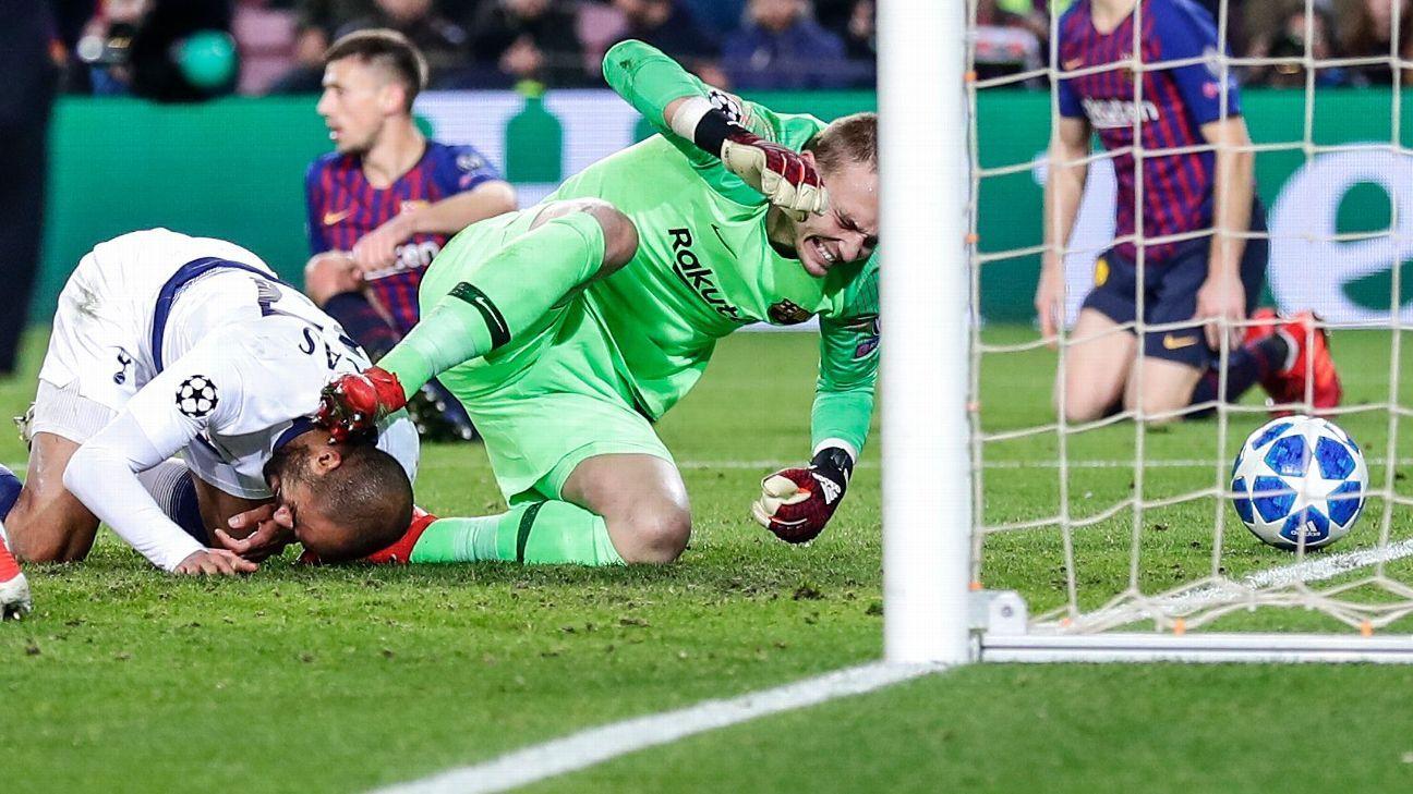Barcelona vs. Tottenham Hotspur - Football Match Summary - December ... 31850e1c7