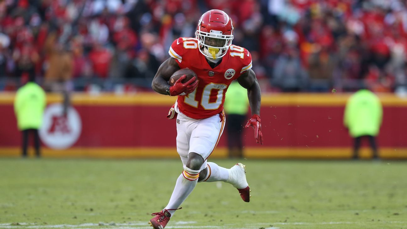 Police are investigating an alleged battery involving a juvenile at the home of Chiefs receiver Tyreek Hill.