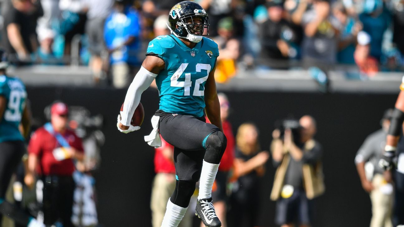 46a9c0ae23f Jacksonville Jaguars release safety Barry Church