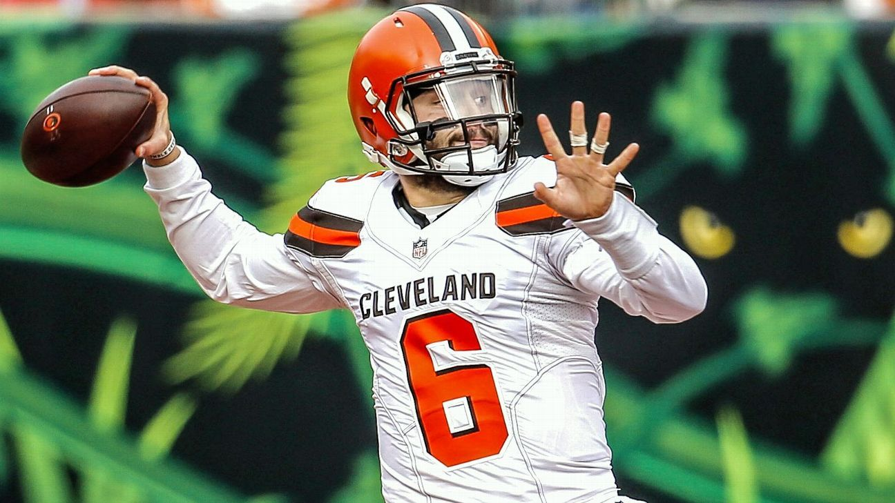 Baker Mayfield feasted on the losing teams on the Browns' schedule; he can take a big step forward in 2019 by improving against playoff teams.